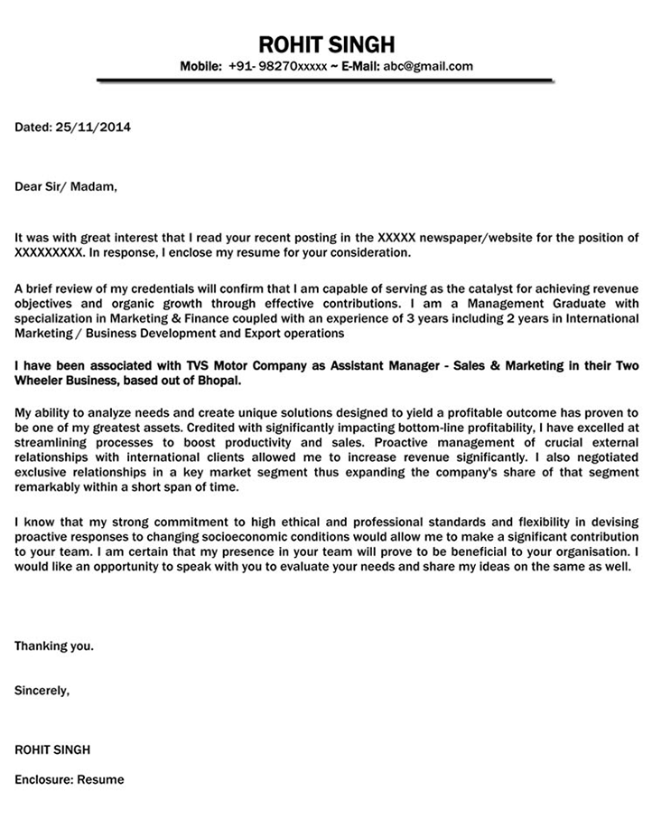 Get Great Cover Letter For Sales Engineer  You Should Know